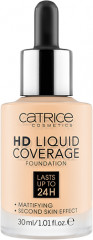 Тональная основа «HD Liquid Coverage Foundation», оттенок 002 Porcelain Beige
