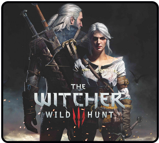 Коврик игровой X-Game The witcher 3: Wild hunt