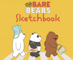 We bare bears. Скетчбук