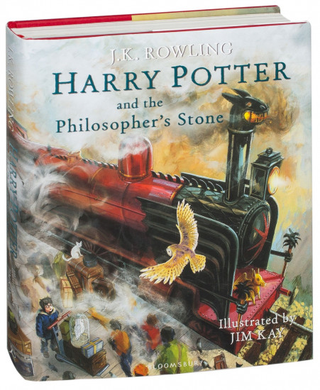 Harry Potter and the Philosopher`s Stone: Illustrated Edition