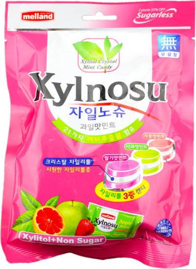 Карамель леденцовая «Xylnosu Fruit Astd Candy»