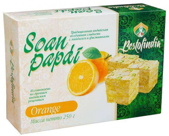 Халва «Soan Papdi Orange»