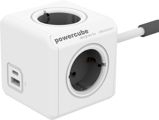 Разветвитель Allocacoc PowerCube Extended USB