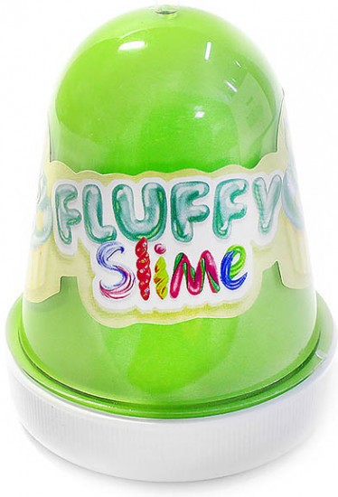 Слайм с ароматом мяты «Monster's Slime Fluffy»