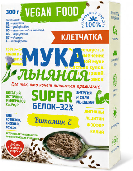 Мука льняная «Vegan Food»