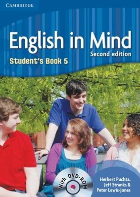 English in Mind 2nd Edition Level 5 Student's Book with DVD-ROM