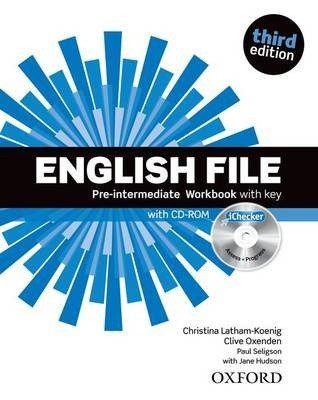 English File third edition Pre-intermediate: Workbook with key and iChecker