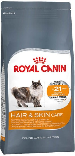 Корм для кошек Royal Canin «Hair and Skin Care»