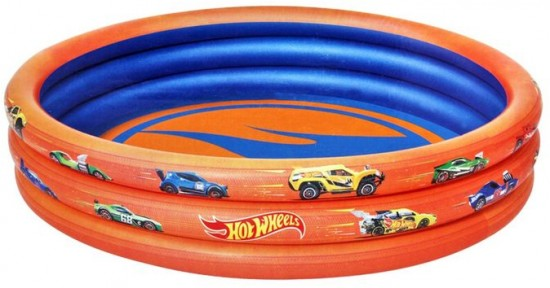 Бассейн надувной Hot Wheels, 122х25 см